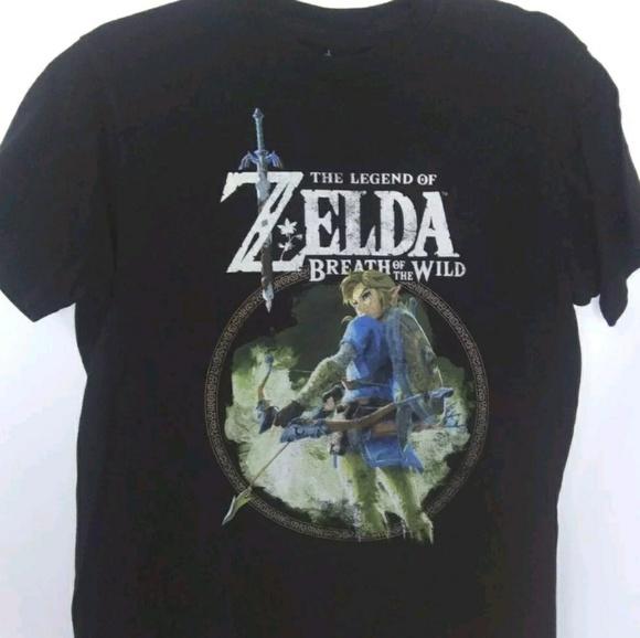 The Legend of Zelda Breath of the Wild TShirt Sz M